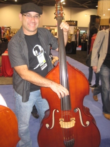 Five string upright from http://www.christopher-bass.de/index_e.html